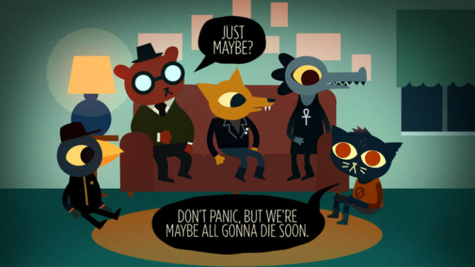 night in the woods funny